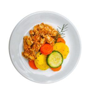Frango com Legumes – 200g